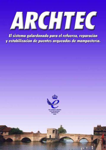 Catalogo CINTEC ARCHTEC ES - Anzeve