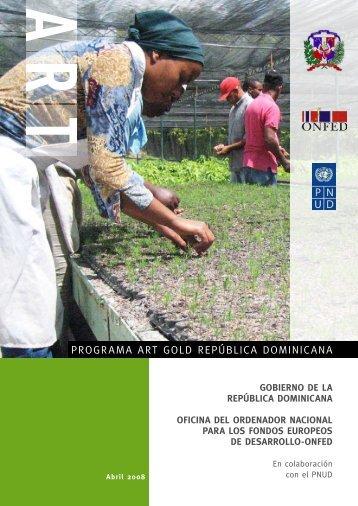 PROGRAMA ART GOLD REPÚBLICA DOMINICANA