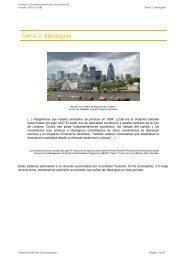 Tema 2: Ideologías - aulAragon