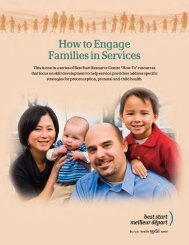 How to Engage Families in Services - Best Start: Ontario's Maternal ...