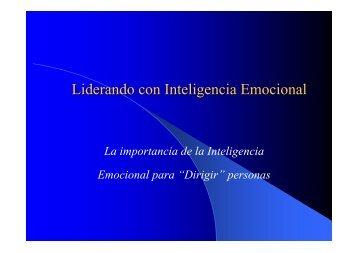 Liderando con Inteligencia Emocional