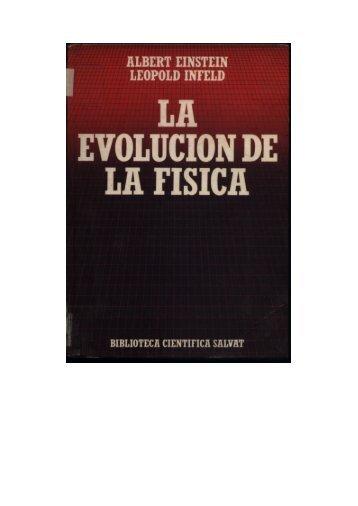 La Evolución de la Fisica - fisica/mente