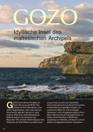 Idyllische Insel des maltesischen Archipels