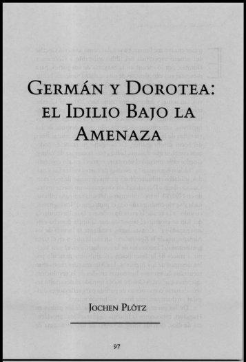 GERMÁN Y DOROTEA: - Konrad Lorenz