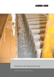 Bausteine der Modernisierung – Schlammwasser ... - Ammann Group