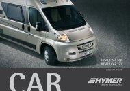 HYMER CAR 302 HYMER CAR 322