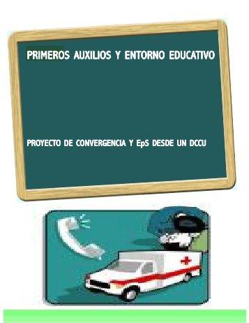 Primeros auxilios y entorno educativo - Enferurg