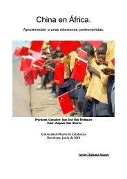 China en África - Universitat Oberta de Catalunya