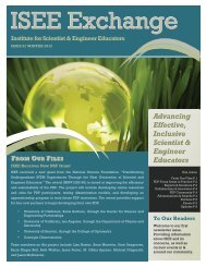 Advancing Effective, Inclusive Scientist & Engineer ... - ISEE at UCSC
