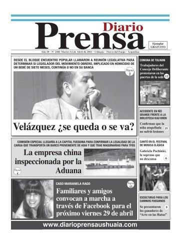 Edición 2461 Martes 12 de Abril de 2011 CS3.indd - Diario Prensa