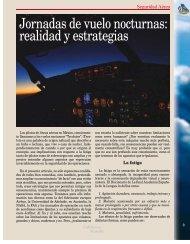 Jornadas de vuelo nocturnas: realidad y estrategias - Colegio de ...