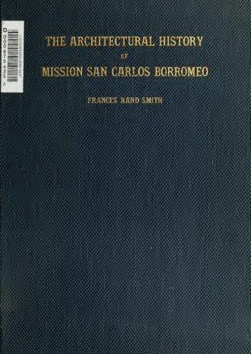 Mission San Carlos Borromeo - The CAGenWeb Project