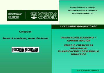 Pensar la enseñanza, tomar decisiones - Igualdadycalidadcba.gov.ar