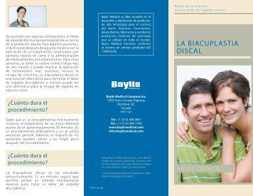 LA BIACUPLASTIA DISCAL - Digestive Health
