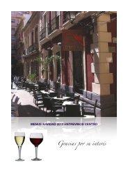 Menus Navidad Entrevinos 2012 1 - Taberna Entrevinos Almería
