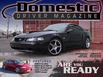 ready - Domestic Driver Magazine