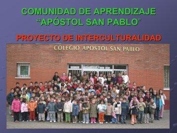 "comunidad de aprendizaje ""apóstol san pablo"" - CFIE Segovia"
