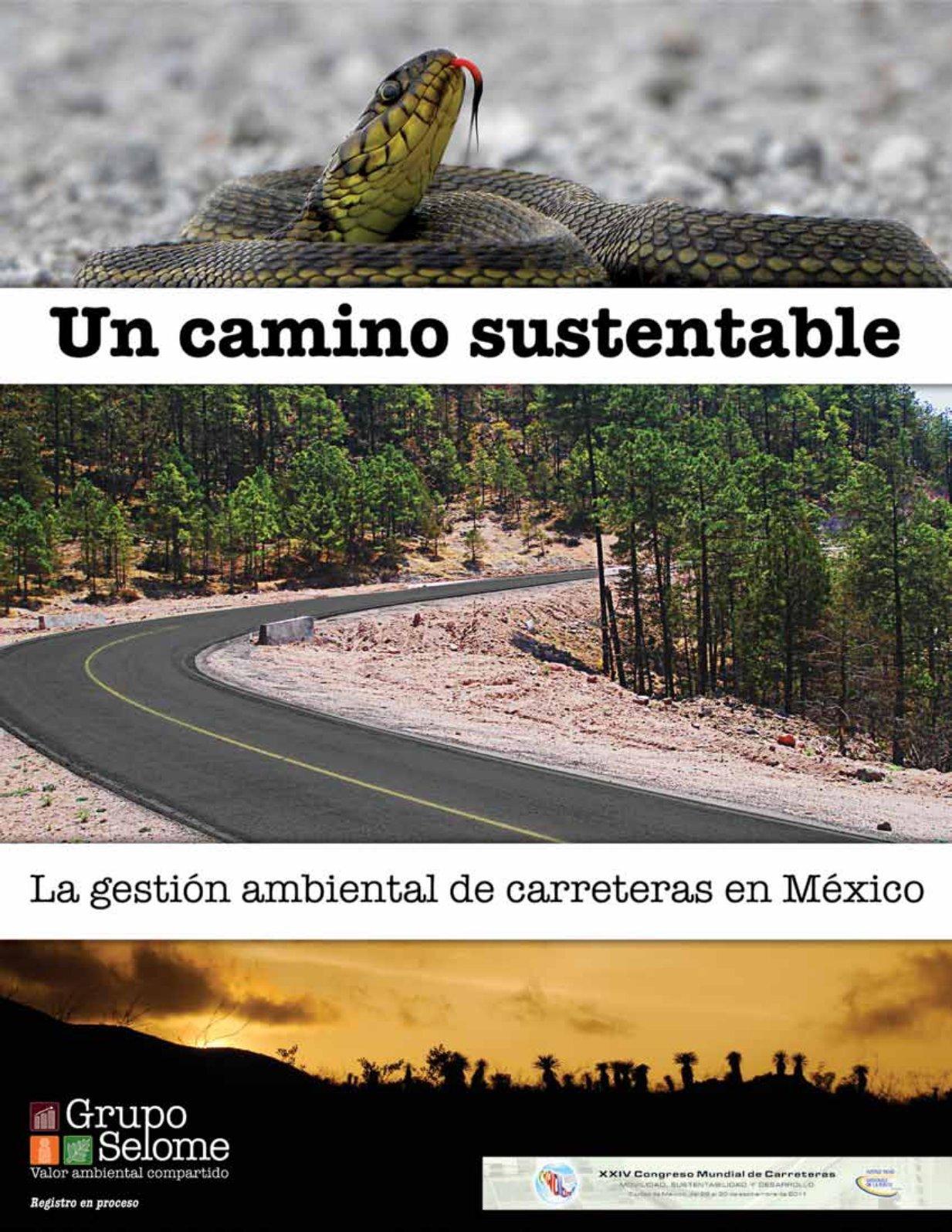 La gestión ambientaL de carreteras en méxico - selome
