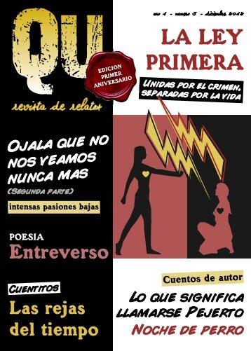 Diciembre 2012 - QU - Revista de cuentos multiautorales