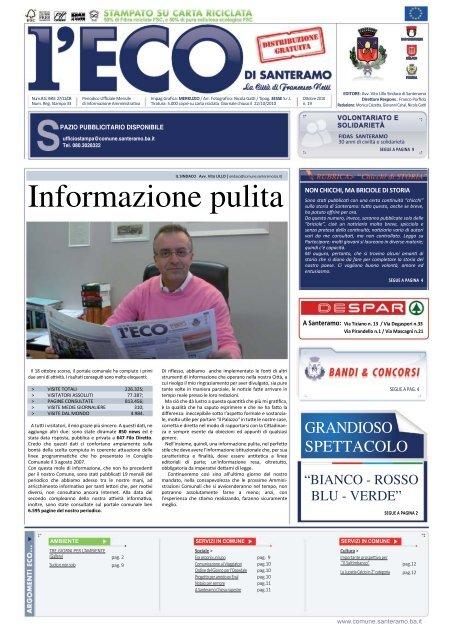 Informazione pulita - Comune di Santeramo in Colle