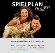 SPIELPLAN - Altes Schauspielhaus und Komödie im Marquardt
