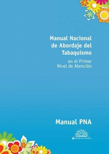 Manual Nacional de Abordaje del Tabaquismo - Comisión ...