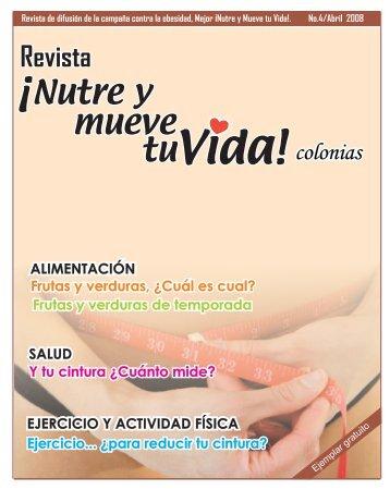 Revista Abril 2008 - Nutre y Mueve Tu Vida