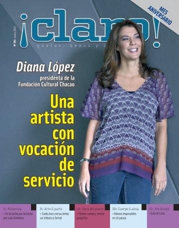 Una artista con vocación de servicio - El Tiempo - El Periódico del ...