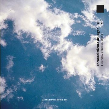 Descargar Catálogo - Galeria Gabriela Mistral