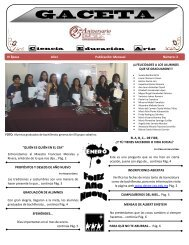 GACETA - Centro de Educacion Abierta