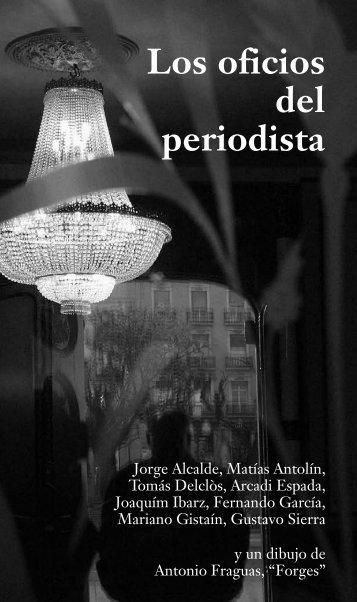 Los oficios del periodista - Asociación de la Prensa de Aragón