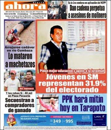 Diario Ahora - san martín - yurimaguas