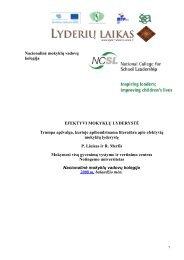 Efektyvi mokyklų lyderystė.pdf - Lyderių laikas