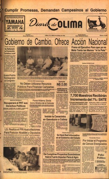 YAMAHA - Universidad de Colima