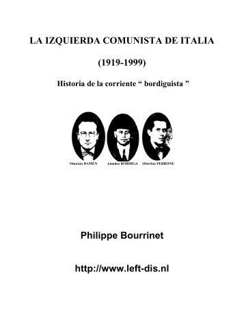 La izquierda comunista de Italia - Left Wing Communism - an ...