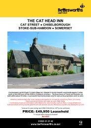 THE CAT HEAD INN - Bettesworths