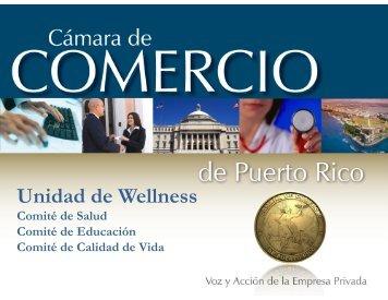 Unidad de Wellness - Cámara de Comercio de Puerto Rico