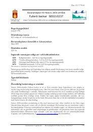 Fullerö backar SE0210237 - Länsstyrelserna