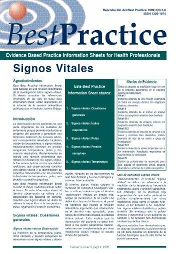 Signos Vitales - MurciaSalud