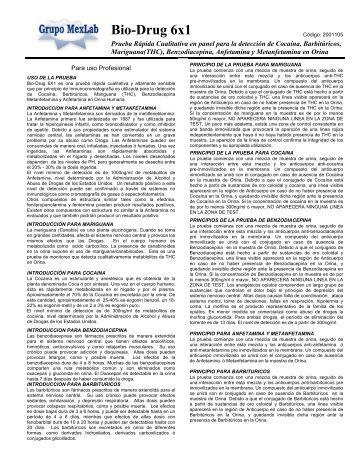 Bio-Drug 6x1 - Grupo MexLab