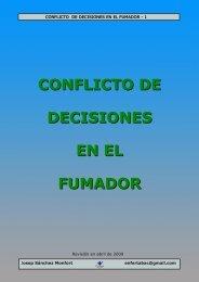 CONFLICTO DE DECISIONES EN EL FUMADOR - Brinkster