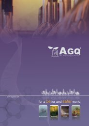 for a better and safer world - Agq.com.es
