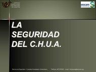 MANUAL DE AUTOPROTECCIÓN - Complejo Hospitalario ...