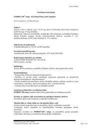 Lietošanas instrukcija FERRETAB® comp. 152,10mg/0,5mg ... - elpa.lv