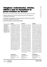 Tabagismo: conhecimentos, atitudes - Escola de Enfermagem da USP