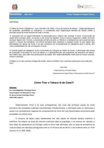 Newsletter nº. 3 - Maio 2011 - Administração Regional de Saúde do ...