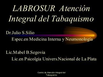 Disertación de Tabaquismo. (Archivo Acrobat). - Inicio