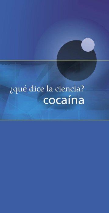 Cocaína - Comisión Nacional contra las Adicciones