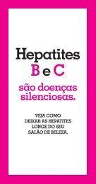 Folheto Hepatite Manicure