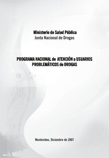 Programa Nacional de Atención a Usuarios problemáticos de Drogas